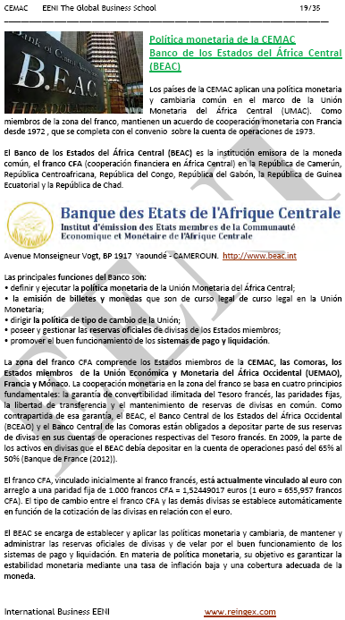 Banco de Estados del África Central
