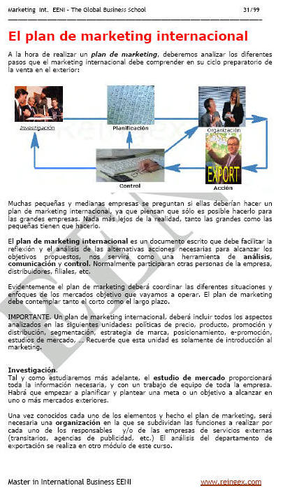 Marketing internacional (Master Online, Comercio Exterior)