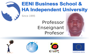 Prosper Kemayou, Chad (Profesor EENI Business School & HA University)